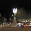 steel, luminaries, lamps.